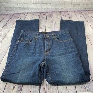 Banana Republic Straight Leg Jeans Size 34X32